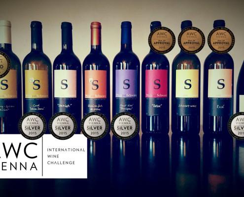 Weingut Schwarz gewinnt Gold an der grössten Weinprämierung der Welt.